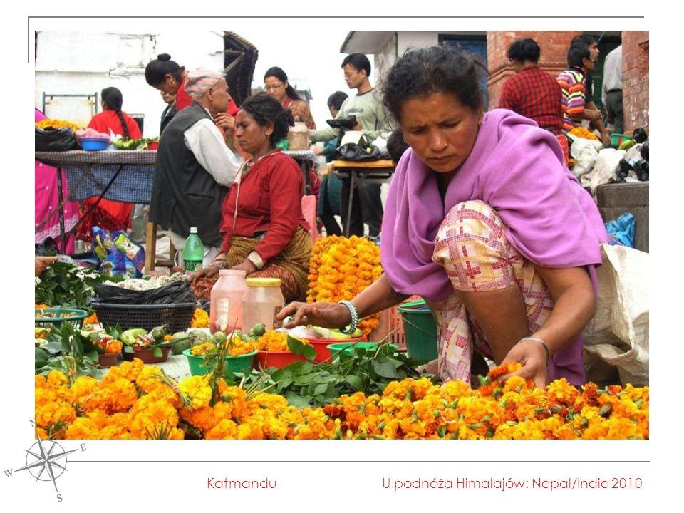 U podnóża Himalajów: Nepal/Indie 2010Katmandu