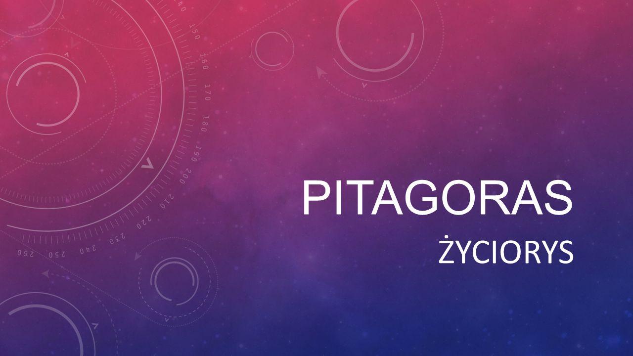 PITAGORAS ŻYCIORYS