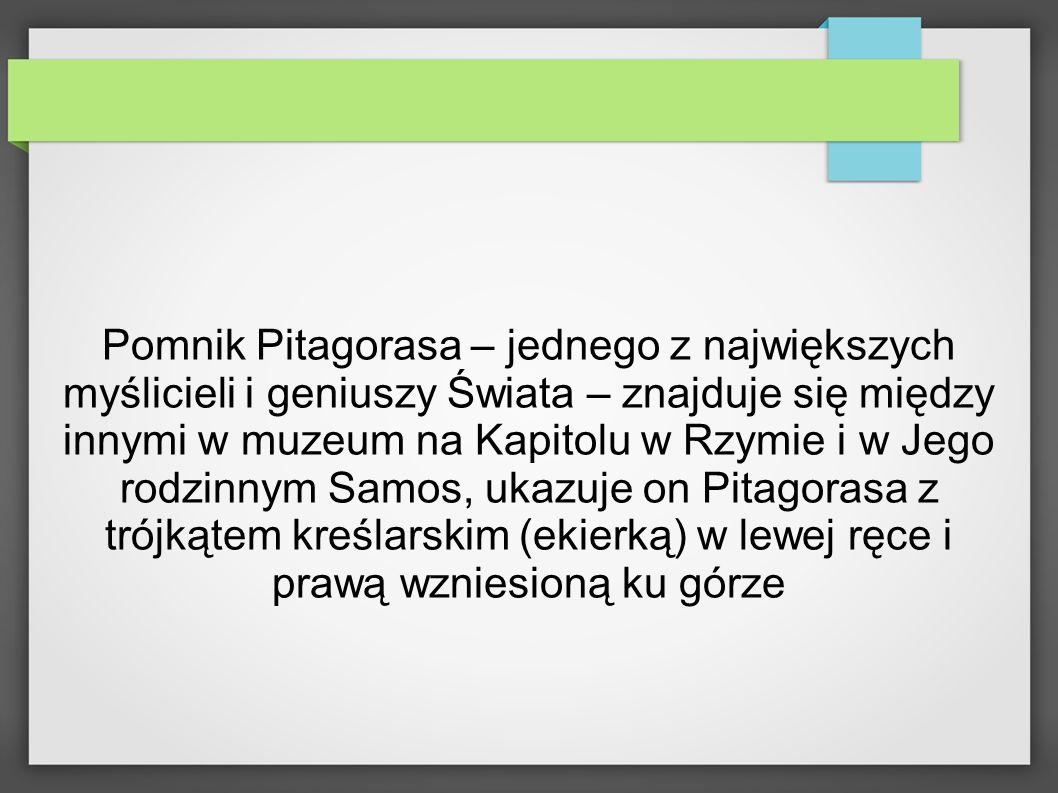 Obecnie znanych jest ponad 200 potwierdzających prawdziwość Twierdzenia Pitagorasa