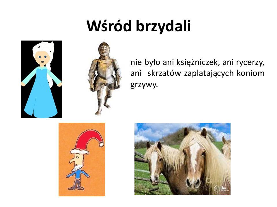 Wśród brzydali nie było ani księżniczek, ani rycerzy, ani skrzatów zaplatających koniom grzywy.
