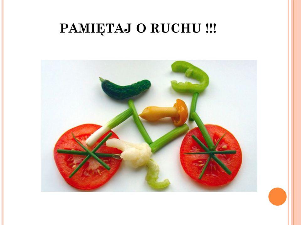 PAMIĘTAJ O RUCHU !!!