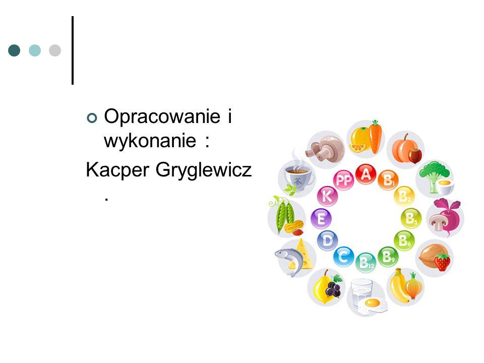Opracowanie i wykonanie : Kacper Gryglewicz.