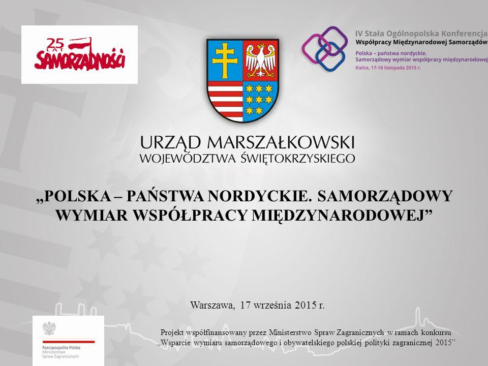 """""""POLSKA – PAŃSTWA NORDYCKIE."""