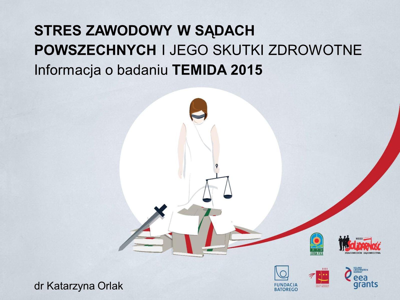 Informacja o badaniu TEMIDA 2015 dr Katarzyna Orlak