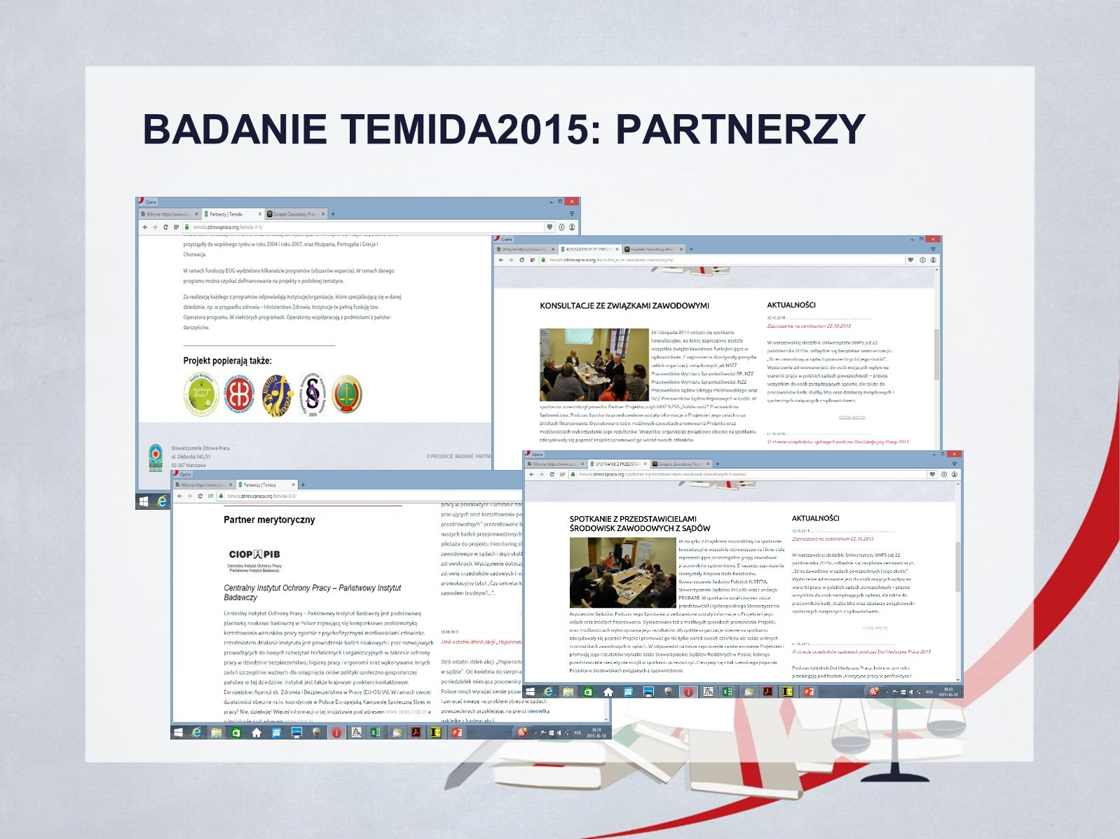BADANIE TEMIDA2015: PARTNERZY