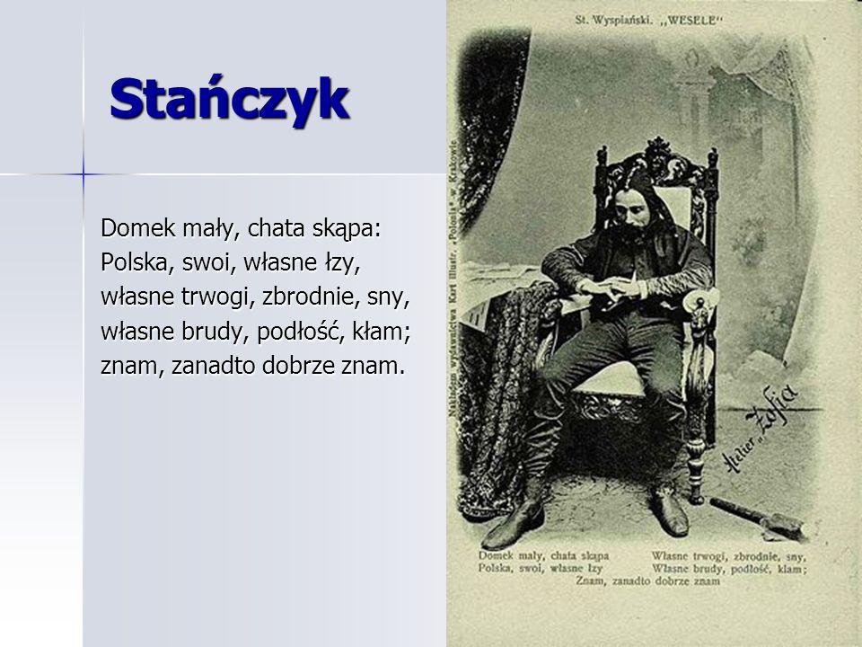 Stańczycy – stronnictwo polityczne Zacz kto.— STAŃCZYKBłazen.DZIENNIKARZpoznając Wielki mąż.