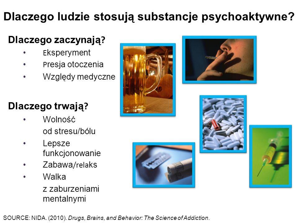 Dlaczego ludzie stosują substancje psychoaktywne. Dlaczego zaczynają .