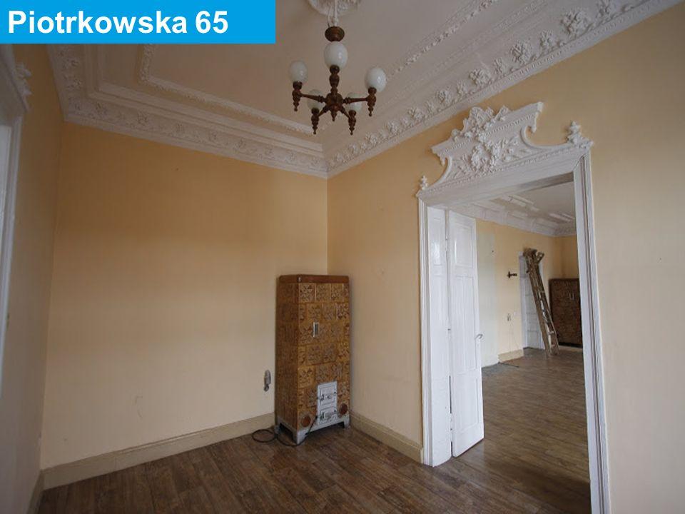 31 maja 2016 45 Piotrkowska 118 Powierzchnia lokalu: 39,04 m2 Ilość pomieszczeń: 1 Położenie: parter – lewa oficyna Urządzenia techniczne: inst.