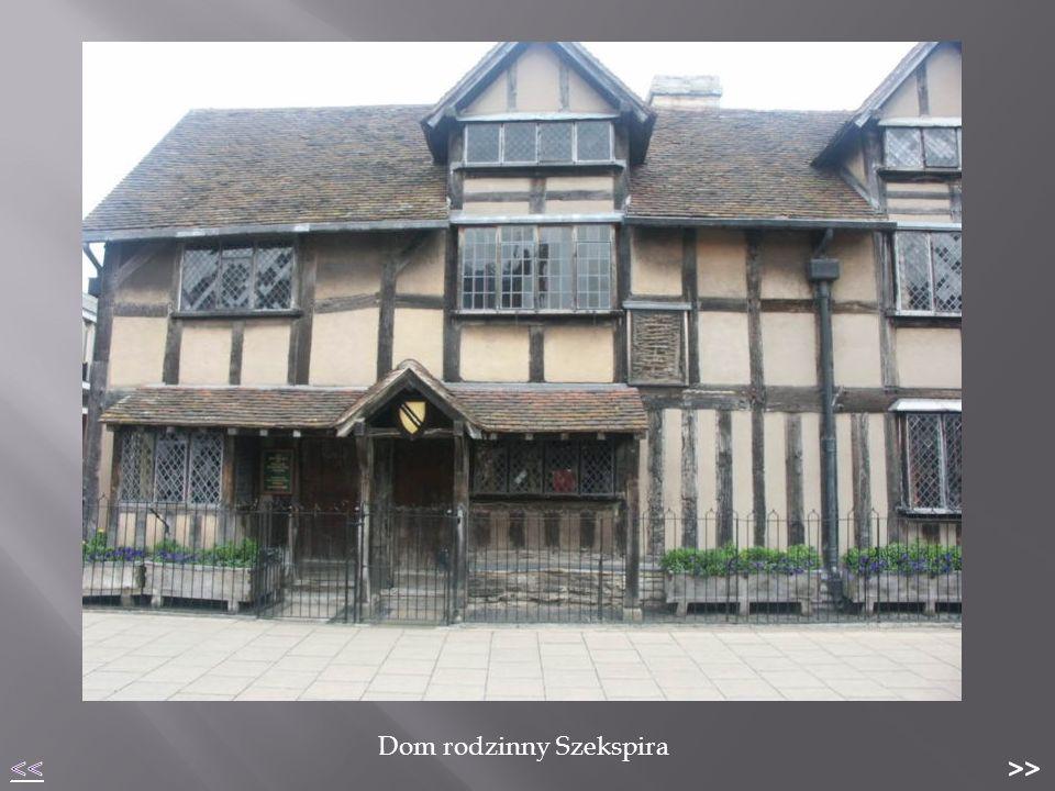 Dom rodzinny Szekspira