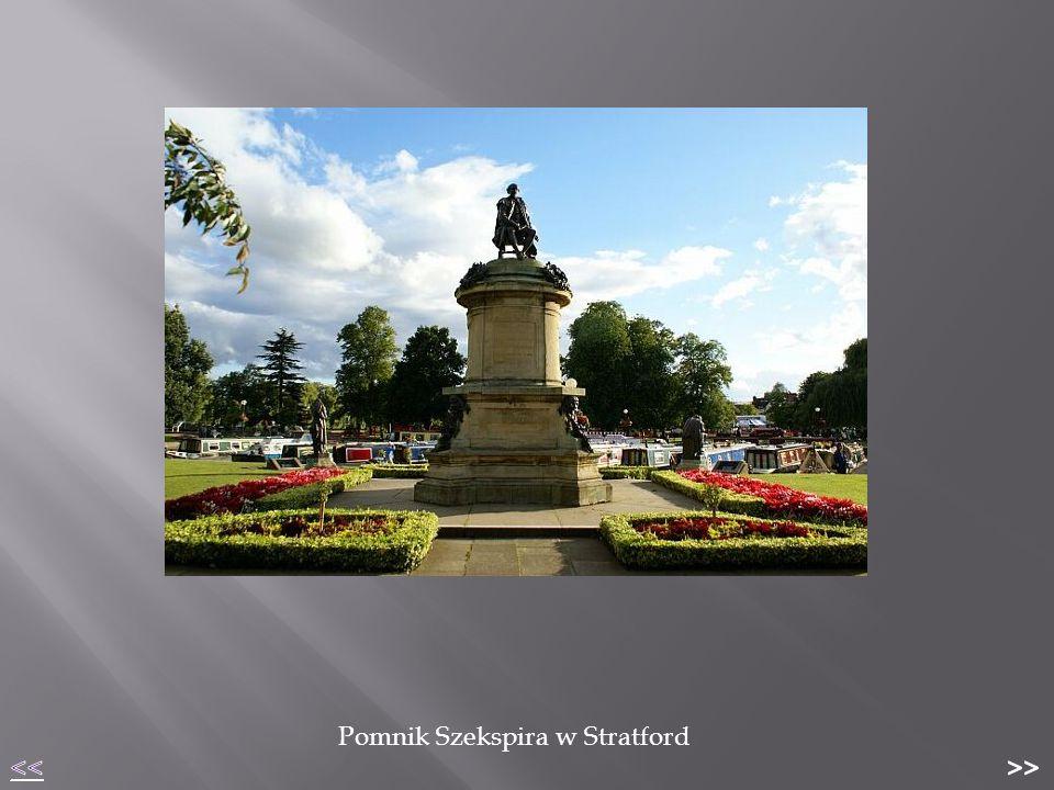 Pomnik Szekspira w Stratford