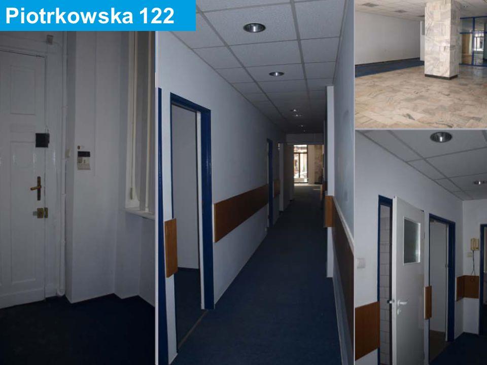 31 maja 2016 7 Piotrkowska 134 Powierzchnia lokalu: 16,99 m2 Ilość pomieszczeń: 2 Położenie: parter – lewa oficyna Urządzenia techniczne: inst.