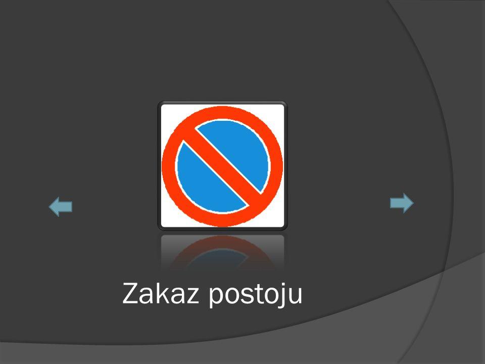 Zakaz postoju