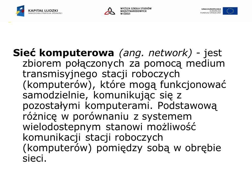 Sieć komputerowa (ang.