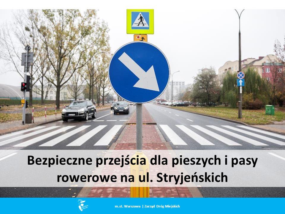 Bezpieczne przejścia dla pieszych i pasy rowerowe na ul.