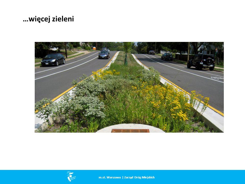 …więcej zieleni m.st. Warszawa | Zarząd Dróg Miejskich
