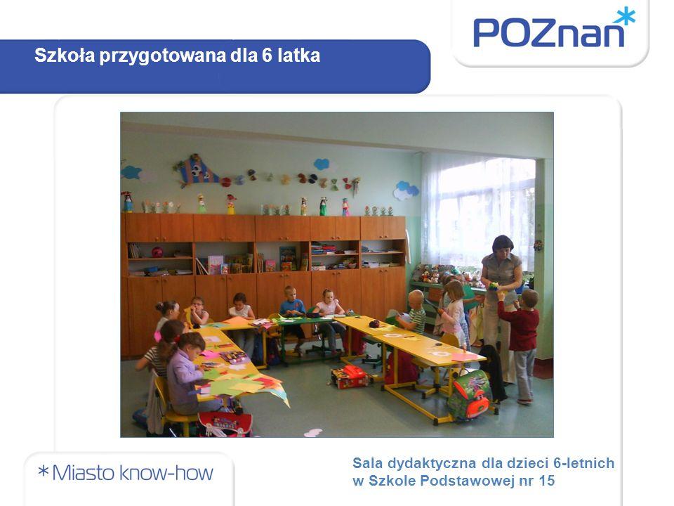 Sala dydaktyczna dla dzieci 6-letnich w Szkole Podstawowej nr 15 Szkoła przygotowana dla 6 latka