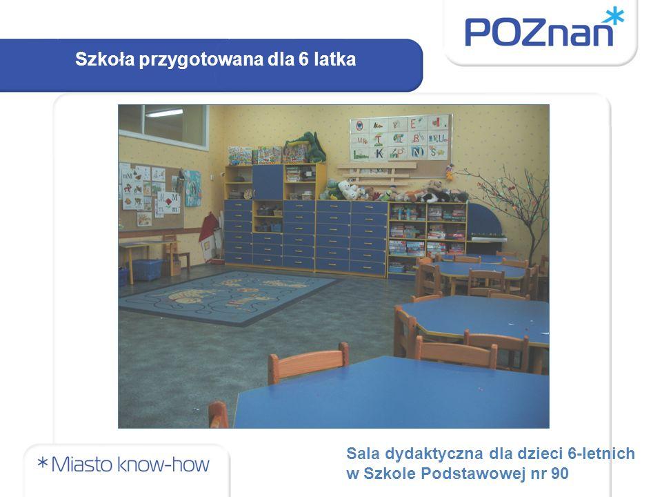 Sala dydaktyczna dla dzieci 6-letnich w Szkole Podstawowej nr 90 Szkoła przygotowana dla 6 latka