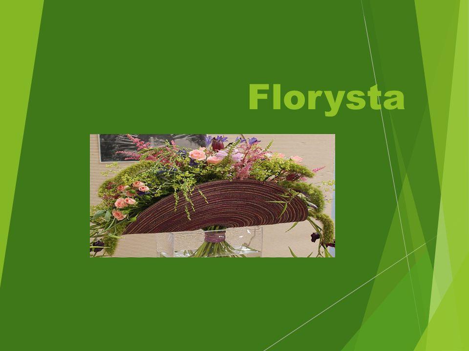 Kwalifikacja zawodowa  R.26.Wykonywanie kompozycji florystycznych Czas trwania nauki- 1 rok