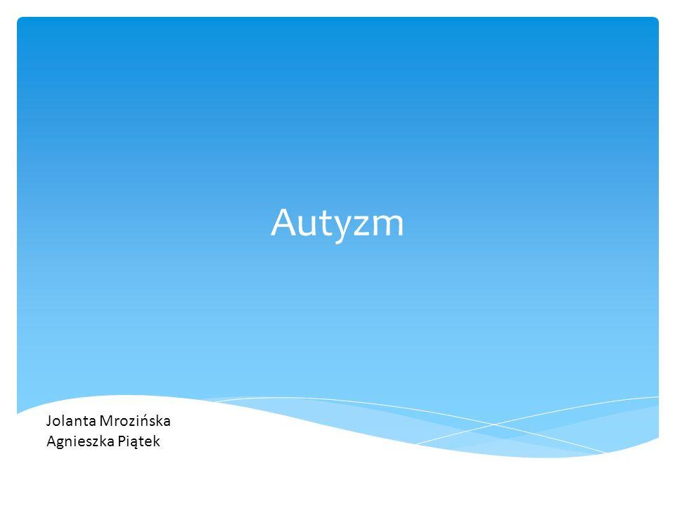 """Funkcjonowanie społeczne a) wczesne oznaki:  brak zainteresowania ludźmi, dziecko woli przedmioty  brak uśmiechu społecznego /w 2-4m-cu życia pojawia się świadomie/  brak synchronii emocjonalnej /nie okazuje emocji, występuje """"kamienna twarz / Autyzm – typowe objawy należące do triady autystycznej"""