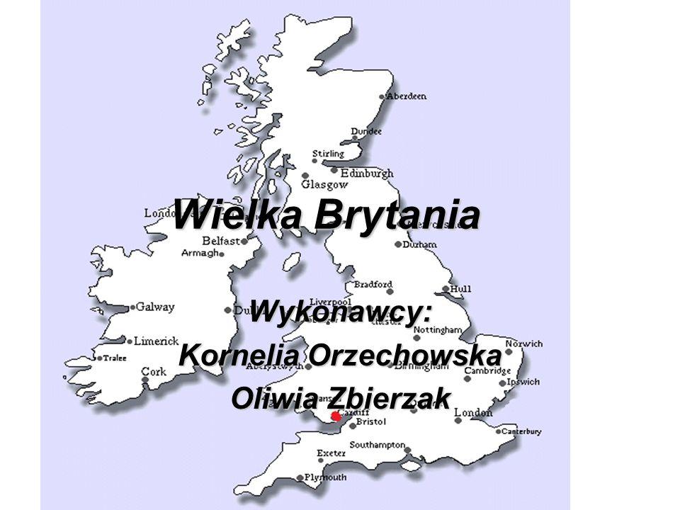 Wielka Brytania Wykonawcy: Kornelia Orzechowska Oliwia Zbierzak