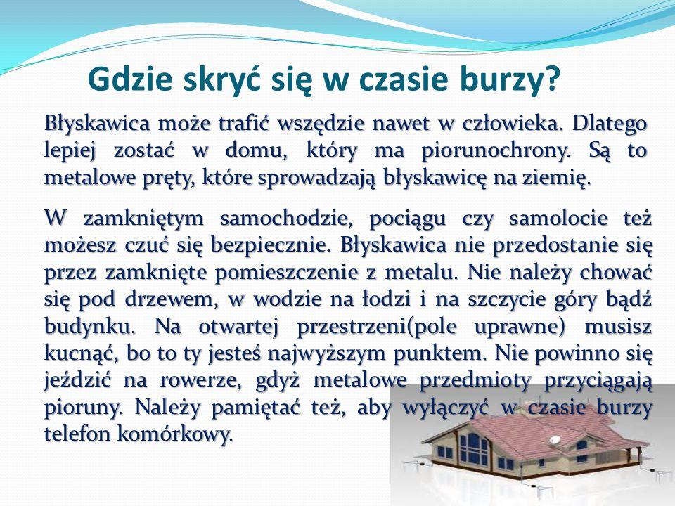Największa burza w historii Polski.
