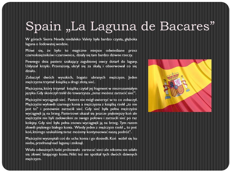 """Spain """"La Laguna de Bacares W górach Sierra Nevda niedaleko Valety była bardzo czysta, głęboka laguna o lodowatej wodzie."""