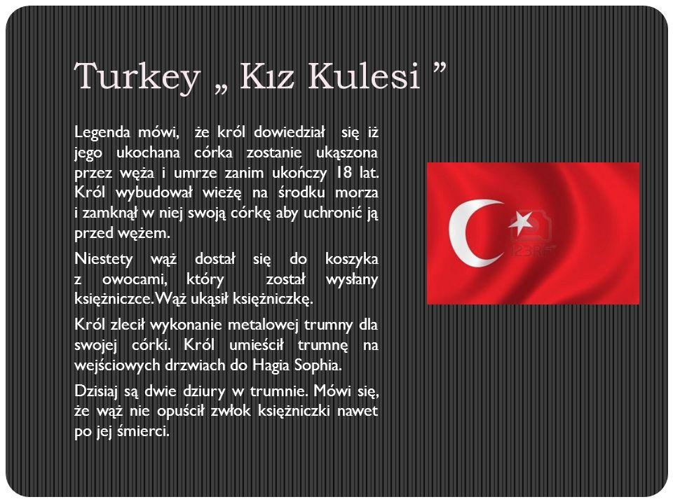 """Turkey """" Kız Kulesi Legenda mówi, że król dowiedział się iż jego ukochana córka zostanie ukąszona przez węża i umrze zanim ukończy 18 lat."""