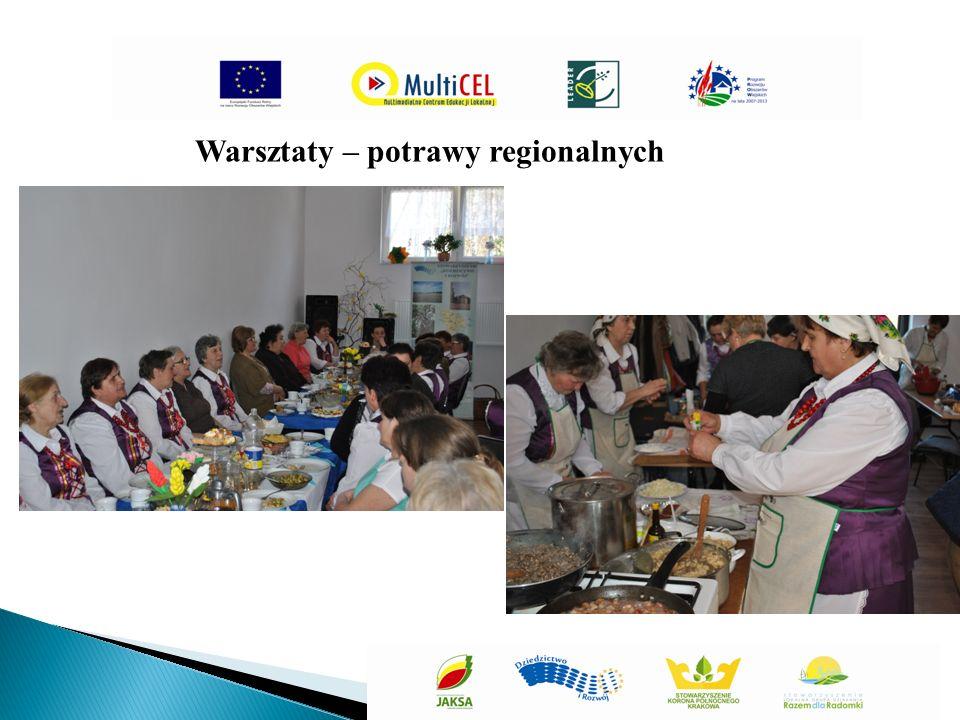Warsztaty – potrawy regionalnych