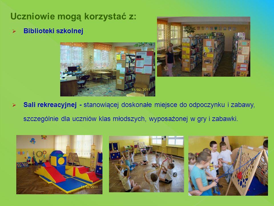  Sportowe przerwy  Warsztaty  Konkursy szkolne  Wystawy  Liczne imprezy okolicznościowe i projekty edukacyjne