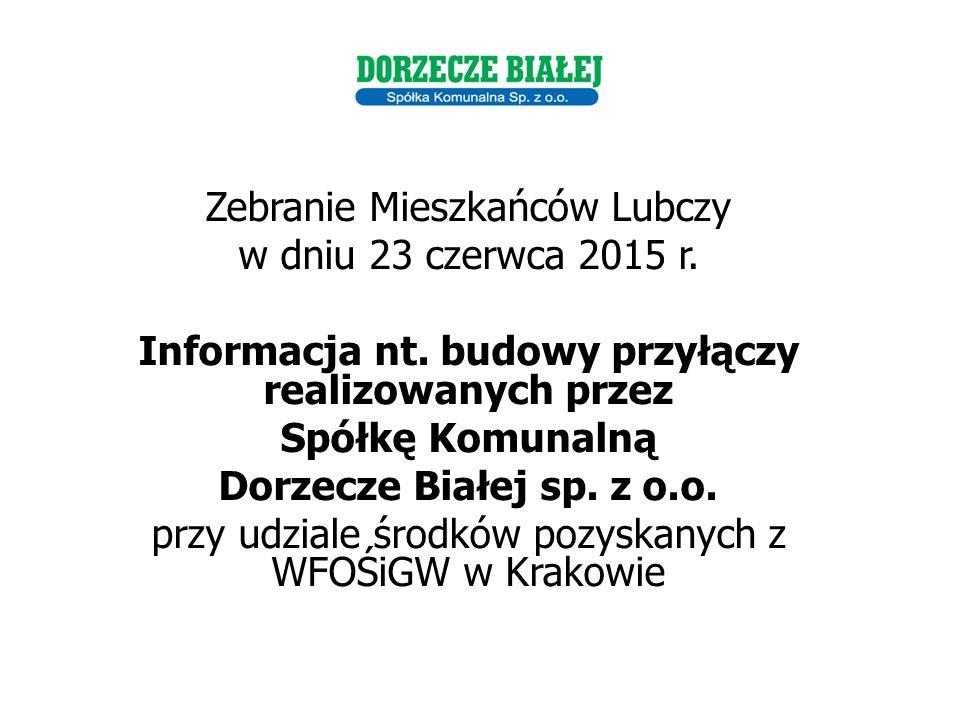 Zebranie Mieszkańców Lubczy w dniu 23 czerwca 2015 r.