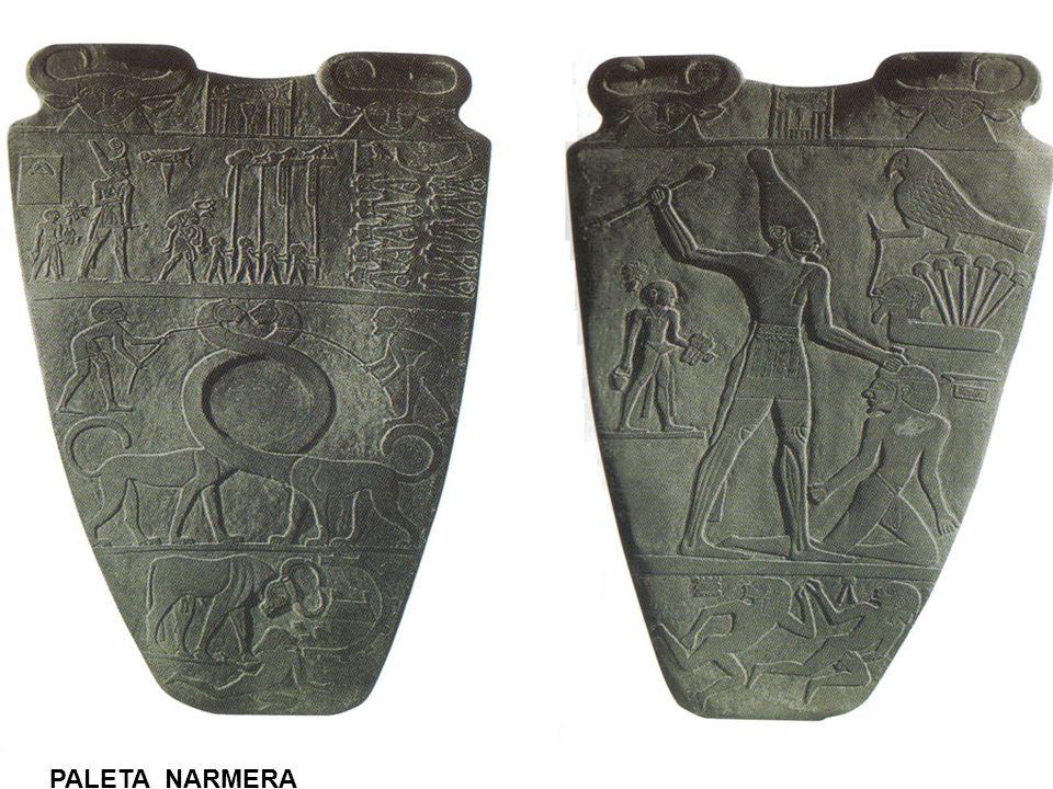 RELIGIA EGIPSKA - CECHY 2.SYNKRETYZM – łączenie dwóch lub więcej bóstw w jedną postać 3.