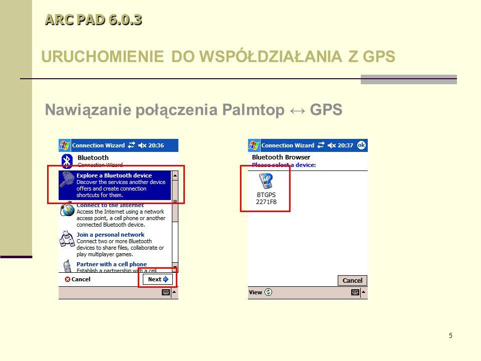 36 ARC PAD 6.0.3 Kilka porad W trakcie dodawania nowego poligonu nie ma konieczności wracania na punkt początkowy – ArcPad automatycznie połączy ostatni wierzchołek z pierwszym.