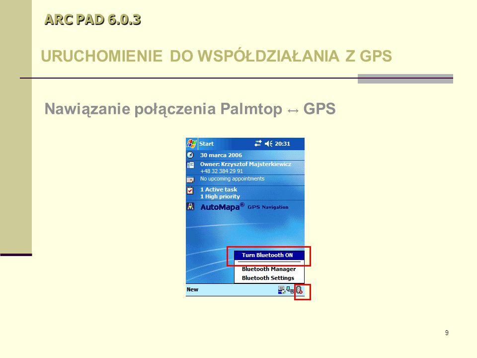 40 ARC PAD 6.0.3 Kilka porad Istnieje możliwość edycji atrybutów wprowadzonego obiektu.