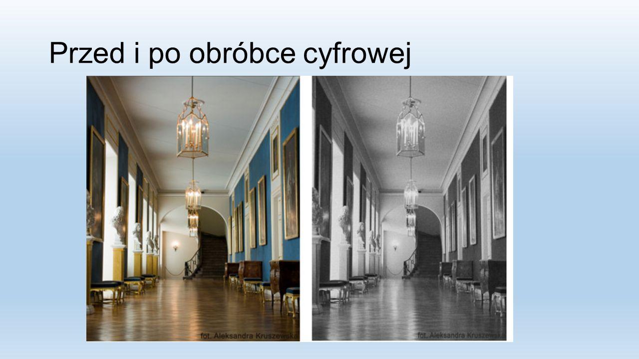 Przed i po obróbce cyfrowej