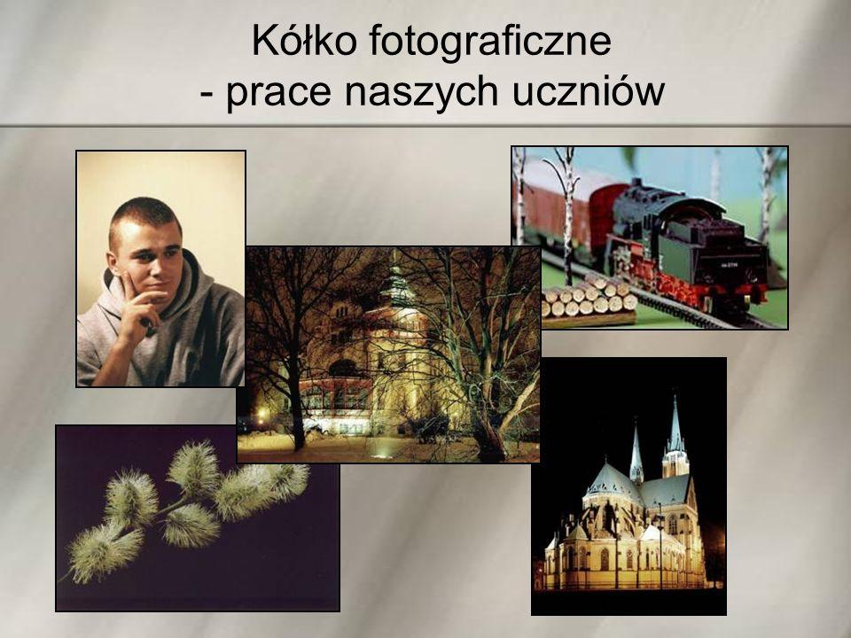 Kółko fotograficzne - prace naszych uczniów