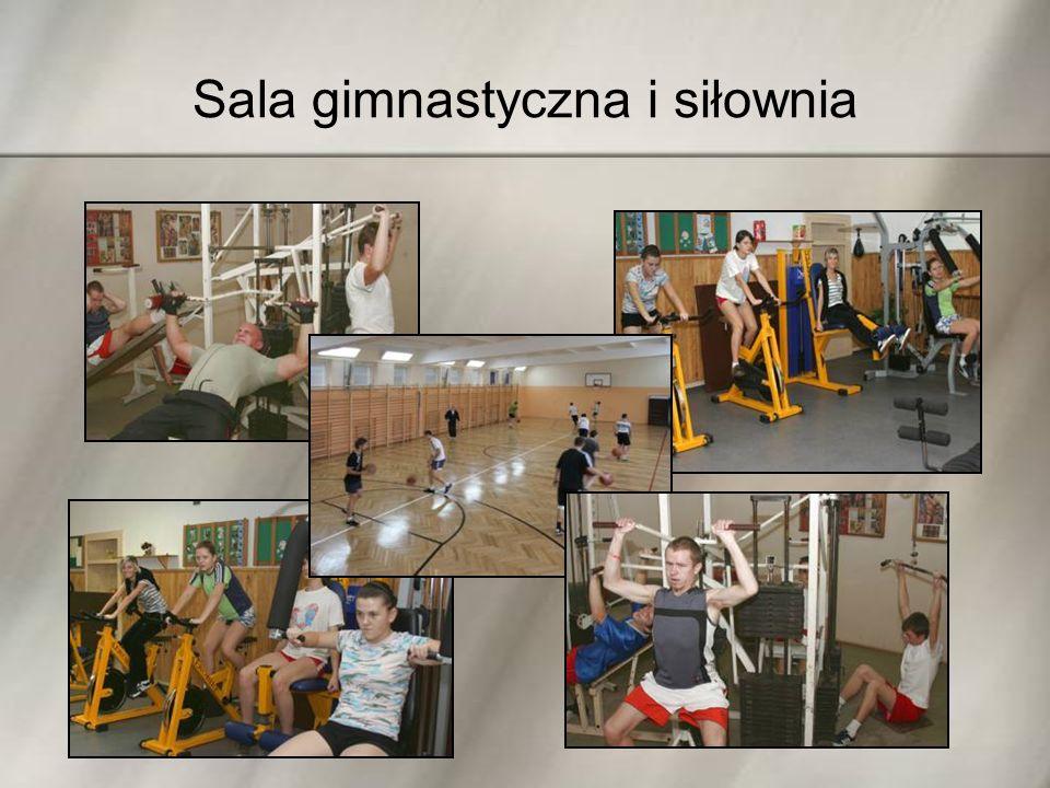 Sala gimnastyczna i siłownia