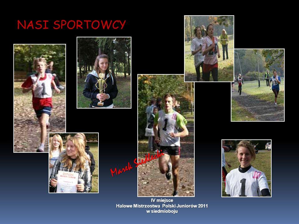 NASI SPORTOWCY Marek Siedlecki IV miejsce Halowe Mistrzostwa Polski Juniorów 2011 w siedmioboju