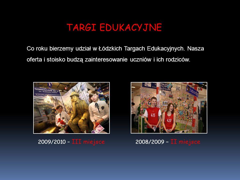 Co roku bierzemy udział w Łódzkich Targach Edukacyjnych.