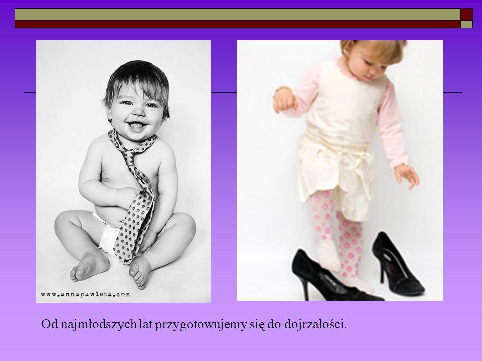 Okres dojrzewania płciowego  Okres dojrzewania rozpoczyna się u dziewcząt około 9-10 roku życia, a u chłopców 11-12.