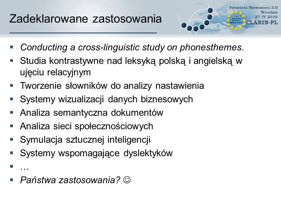 Dziękuję bardzo za uwagę www.clarin-pl.eu
