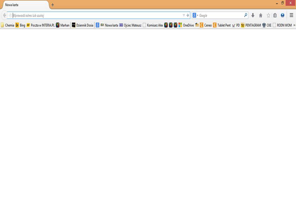 Ćwiczenie 1 Podaj 3 przykłady przeglądarek internetowych.