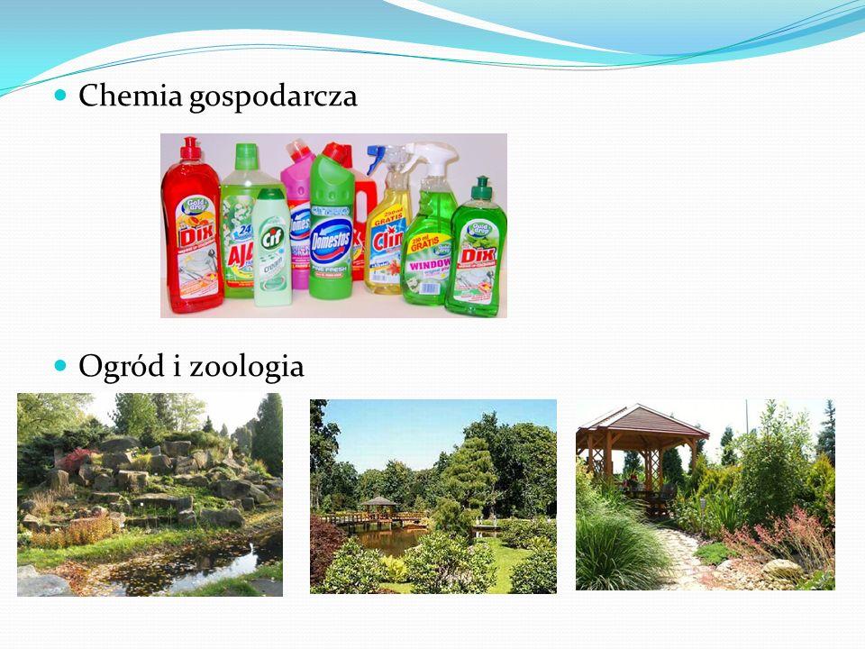 Chemia gospodarcza Ogród i zoologia