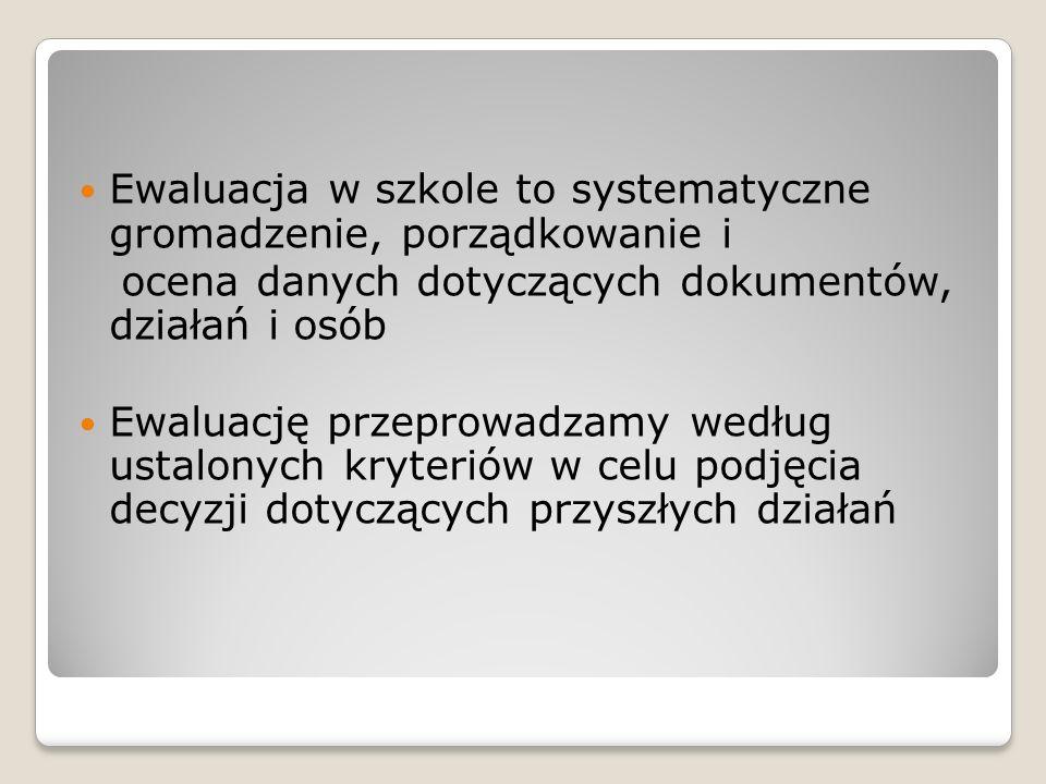 ETAPY EWALUACJI I przygotowanie projektu II.realizacja ( zbieranie danych) III.