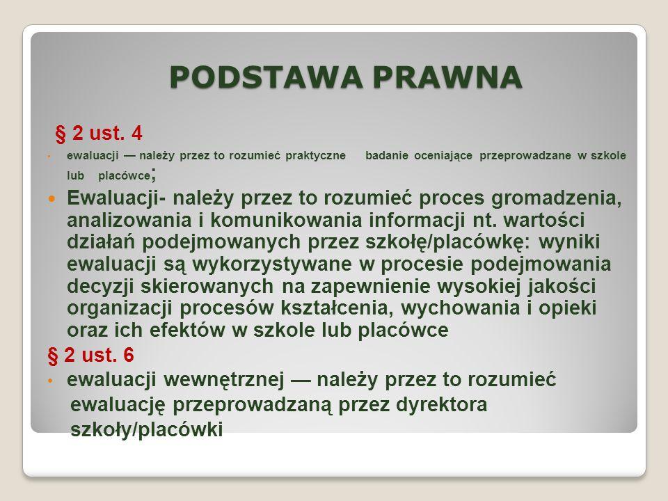 PODSTAWA PRAWNA § 2 ust.