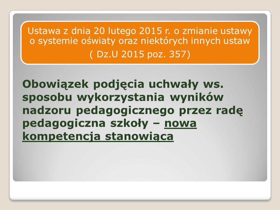 ETAP I : PRZYGOTOWANIE I OPRACOWANIE PROJEKTU Rola dyrektora – zadania zgodnie z rozporz.