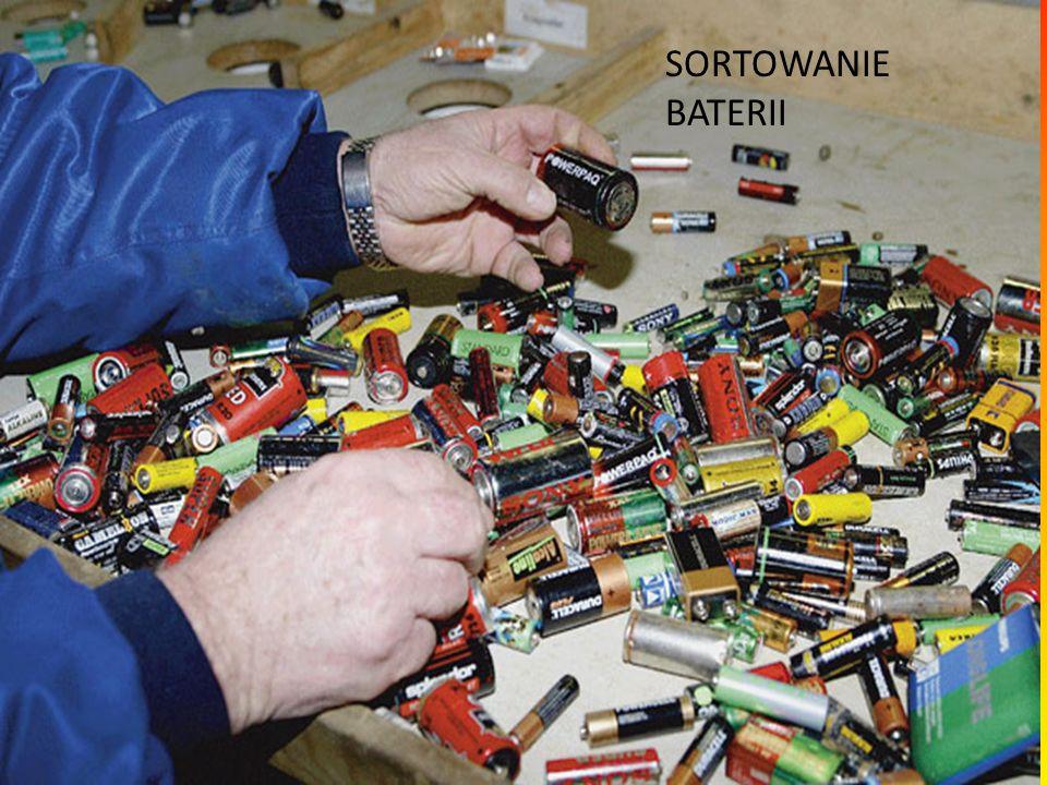 ZBIÓRKA BATERII Właściwa zbiórka pozwala nie tylko unieszkodliwić toksyczne metale ciężkie, ale także odzyskać część surowców oraz zaoszczędzić energię potrzebną do wydobycia pierwiastków, niezbędnych między innymi do produkcji nowych baterii.