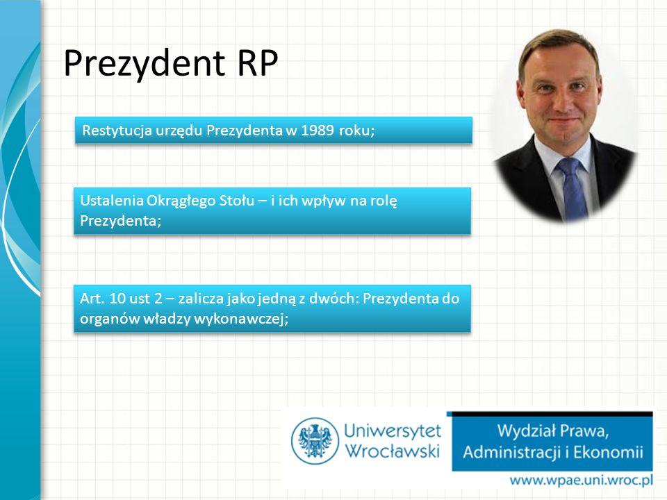 Zakres działania RM Podstawowe zadania (kierunki działania) Rady Ministrów zostały wskazane w art.