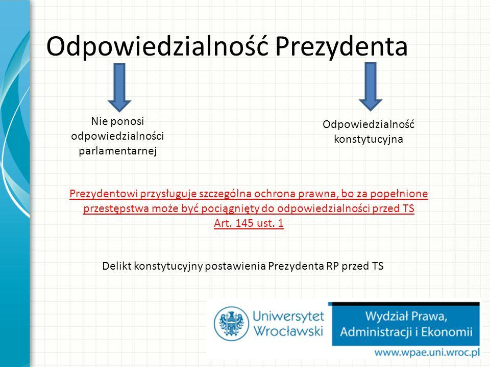 Prezes RM ma obowiązek złożenia dymisji w następujących przypadkach: 1.Ukonstytowania się nowego Sejmu po wyborach; 2.Nieuchwalenie przez Sejm wotum zaufania dla RM (art.