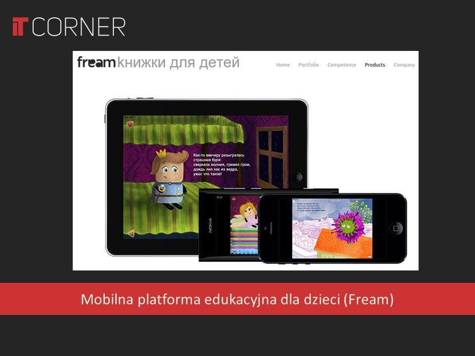 Mobilna platforma edukacyjna dla dzieci (Fream)