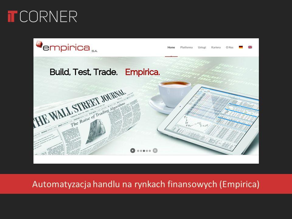 Automatyzacja handlu na rynkach finansowych (Empirica)